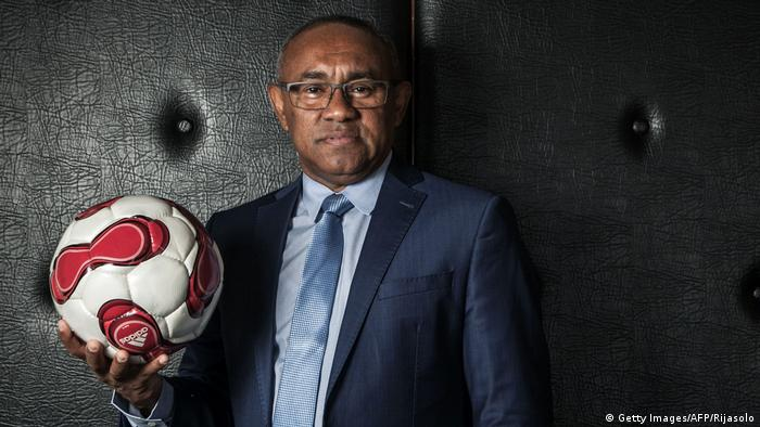 Ahmad Ahmad, former head of the Confederation of African Football