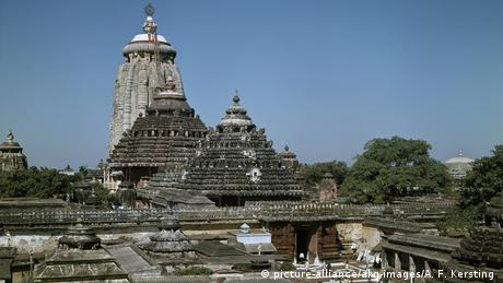 Indien Tempel - Jagannath-Tempel in Puri (picture-alliance/akg-images/A. F. Kersting )