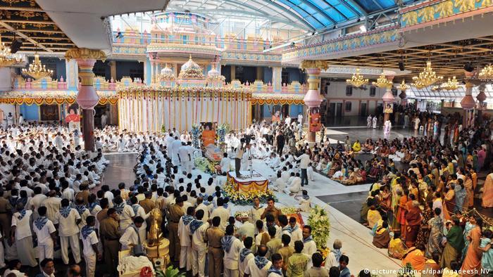 Indien Tempel - Sai Baba in Puttaparti (picture alliance/dpa/Jagadeesh NV)