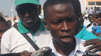 Guinea-Bissau - Proteste gegen die Regierung: Sumaila Djalo