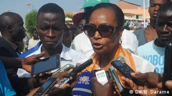 Guinea-Bissau - Proteste gegen die Regierung: Nelvina Barreto