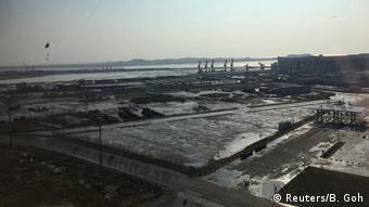 Grenzstadt Dandong - Nordkorea und China - Kohle