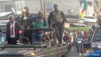 Kamerun Manager der Fußball-Nationalmannschaft (DW/H. Fotso)