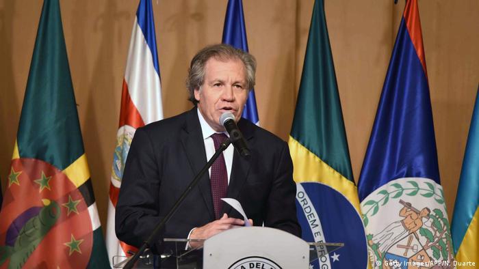 Paraguay Luis Almagro (Getty Images/AFP/N. Duarte)