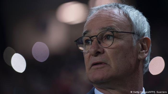 Fußball the UEFA Champions League Claudio Ranieri (Getty Images/AFP/J. Guerrero)