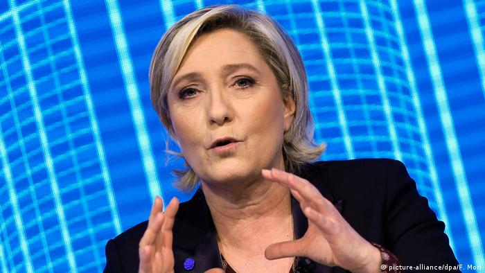 Marine Le Pen (picture-alliance/dpa/F. Mori)