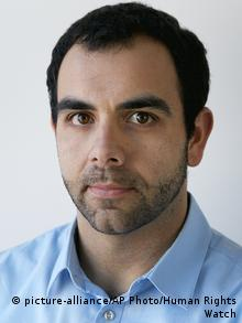 Israel Omar Shakir Human Rights Watch (picture-alliance/AP Photo/Human Rights Watch)