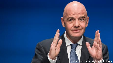 FIFA - Gianni Infantino (picture-alliance/dpaE. Leanza)