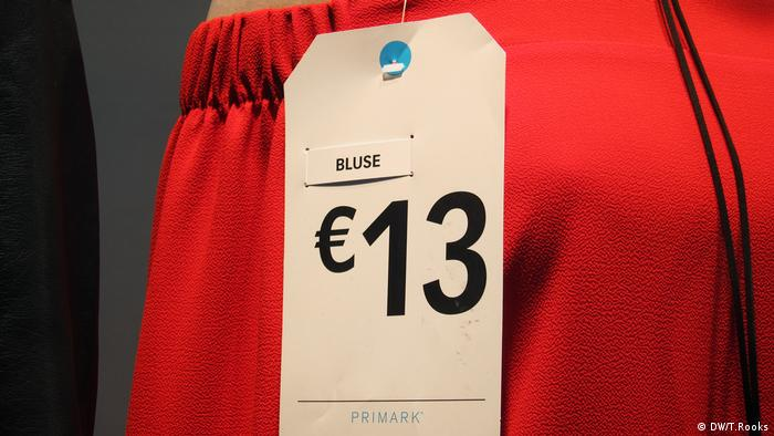 Primark price tag