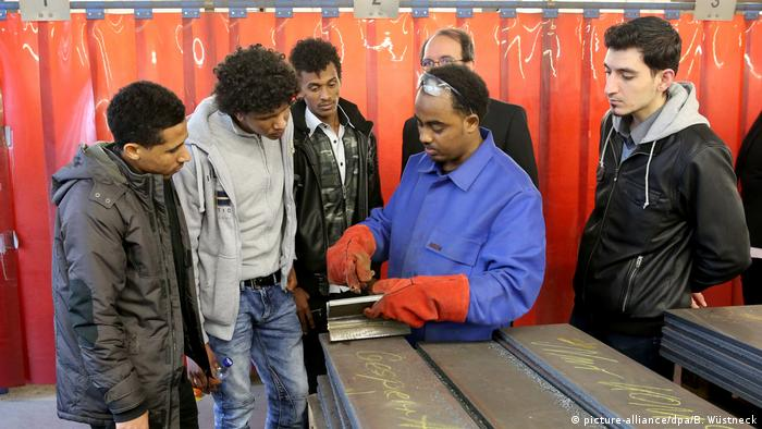 Vocational training for migrants