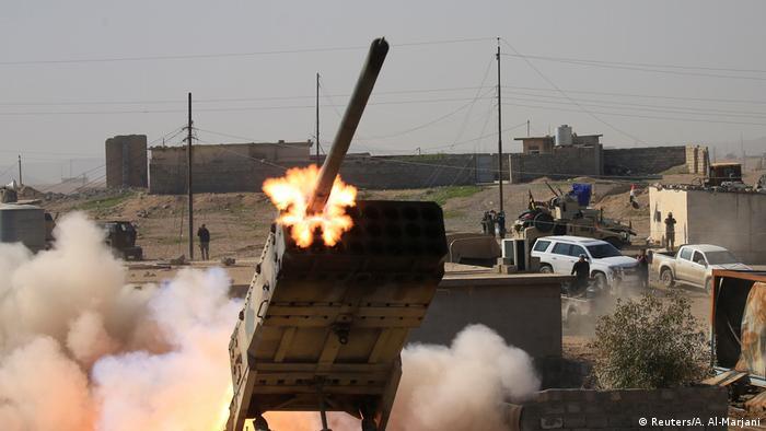 حملات موشکی در عراق (عکس از آرشیو)