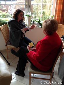 Ursula Wanecki in an interview with DW (DW/A. Rycicka)