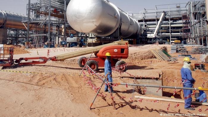 Khurais-Ölfeld in Saudi-Arabien