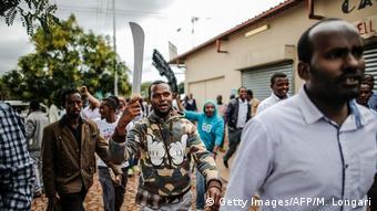 Südafrika Pretoria Unruhen wegen Migranten