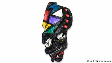 Ghana Recycled masks (Ed Franklin Gavua)