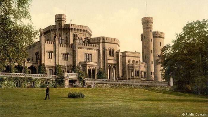Замок Бабельсберг в Потсдаме, 1900 год