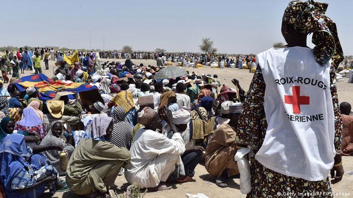 Afrika - humanitäre Hilfe im Tschadsee-Gebiet
