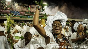 Brasilien Karneval in Rio de Janeiro (Getty Images/AFP/Y. Chiba)