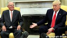 USA Pedro Pablo Kuczynski und Donald Trump in Washington