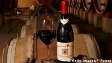 Frankreich Châteauneuf-du-Pape Weinkeller