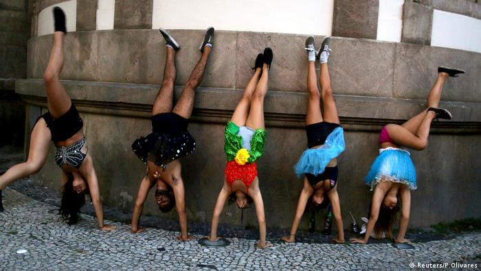 Karneval in Rio de Janeiro Brasilien (Reuters/P.Olivares)