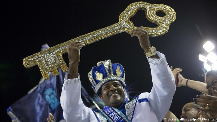 Karneval in Rio de Janeiro Brasilien (picture alliance/dpa/M.Pimentel)