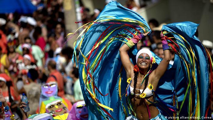 Karneval in Rio de Janeiro Brasilien (picture alliance/dpa/L.Correa)