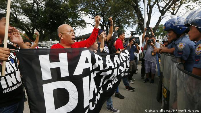 Philippinen People Power Protest
