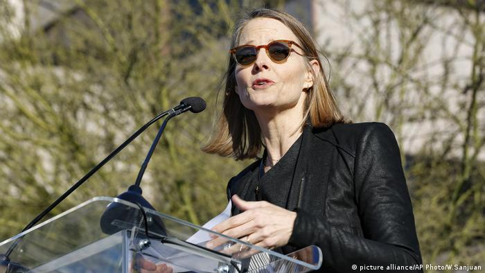 Jodie Foster Oscars Protest Boykott (picture alliance/AP Photo/W.Sanjuan)
