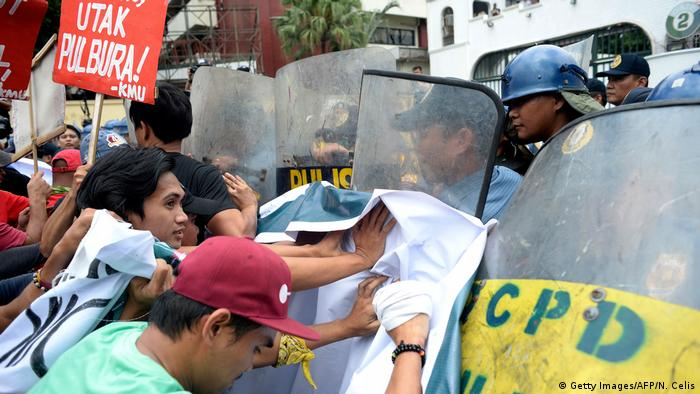 Philippinen Manila Proteste Duterte