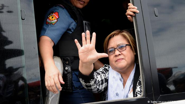 Philippinen Manila Leila De Lima (Getty Images/AFP/N. Celis)
