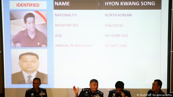 Malaysia Pressekonferenz Hyon Kwang Song