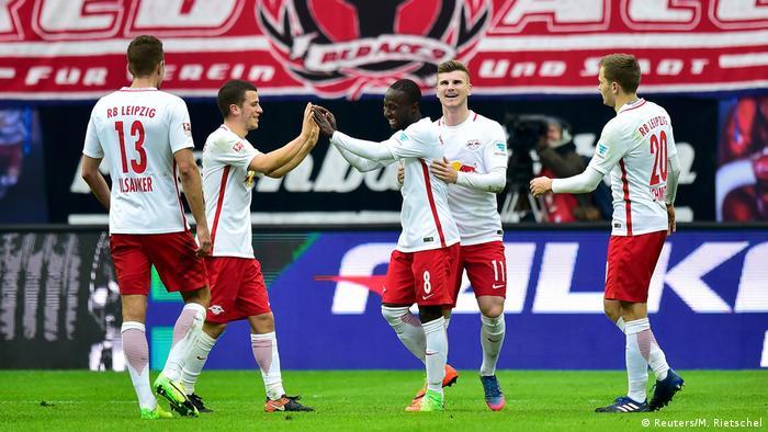 Deutschland RB Leipzig gegen 1 FC