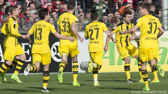 Deutschland SC Freiburg - Borussia Dortmund