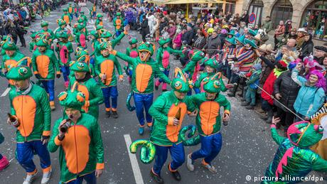 Karneval in Wasungen (picture-alliance/dpa)