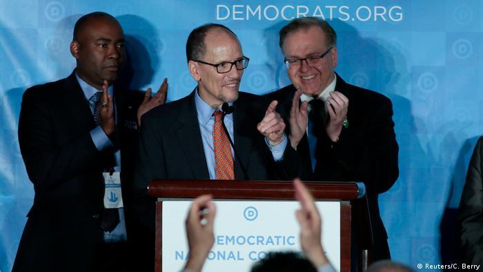 Atlanta US-Demokraten wählen Tom Perez zum neuen Parteivorsitzenden