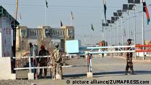 Die Grenze zwischen Pakistan und Afghanistan trennt das Gebiet der ethnischen Paschtunen in zwei Teile