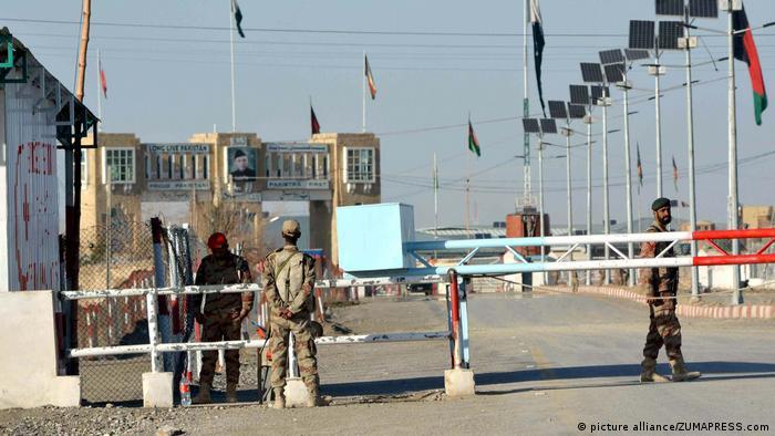 Chaman Pakistanisch-afghanische Grenze geschlossen