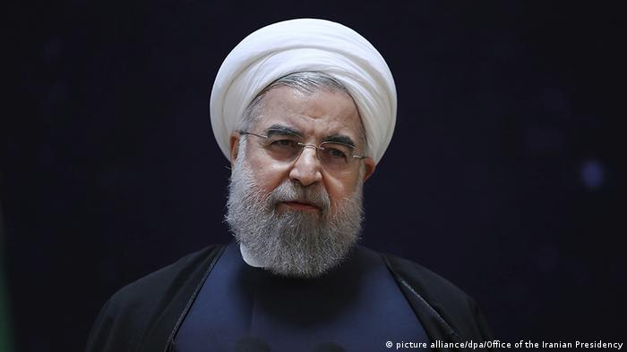 Irans Präsident Hassan Rohani (picture alliance/dpa/Office of the Iranian Presidency)