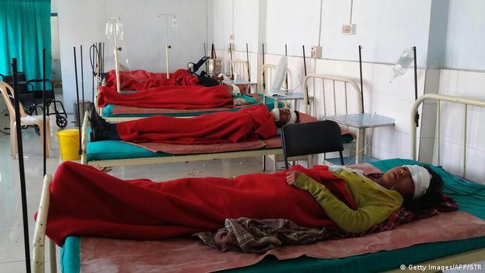 Indien Meghalaya Verkehrsunfall