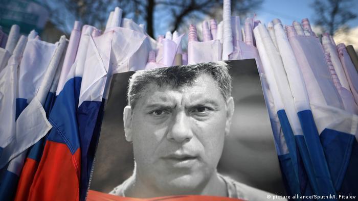Russland Gedächtnisaktionen zu ermordeten Oppositionnelen (picture alliance/Sputnik/I. Pitalev)