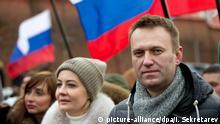 Russland Moskau Alexej Nawalny