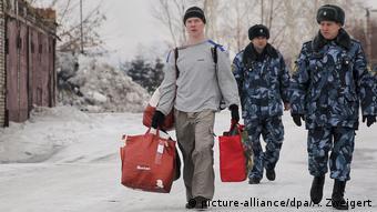 Общественный активист Эльдар Дадин, вышел на свободу из колонии 26 февраля