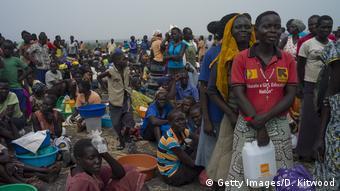 Uganda Bürgerkrieg und Hunger im Südsudan treiben Menschen zur Flucht