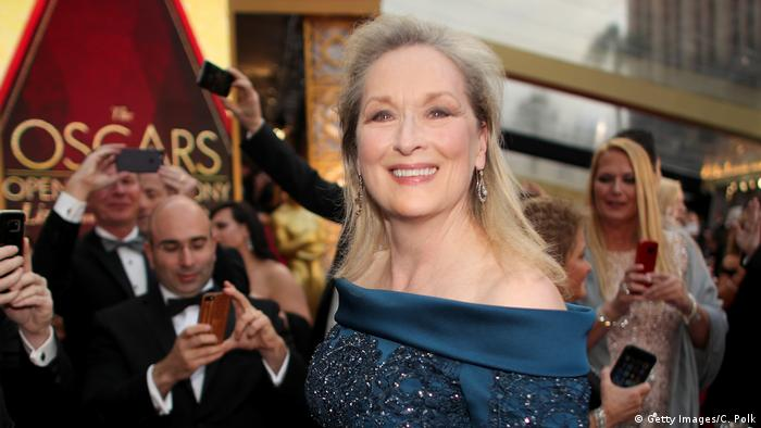 Meryl Streep bei den Los Angeles Oscars 89. Academy Awards