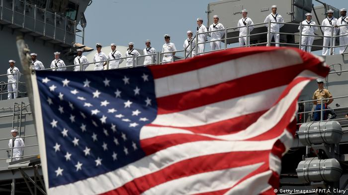 USA Marinesoldaten (Getty Images/AFP/T.A. Clary)