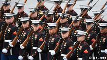 Der Marineminister ist unter anderem auch für das Marine Corps des US-Militärs zuständig