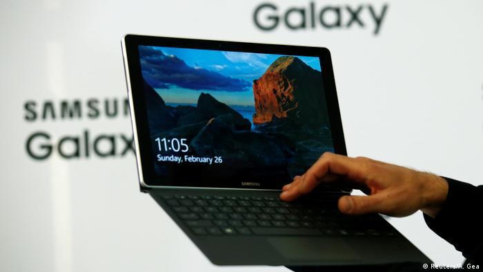 Планшетный ноутбук Samsung Galaxy Book