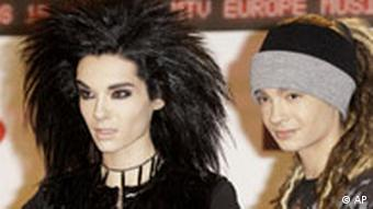 Tokio Hotel bei den European MTV Awards in Liverpool, England