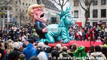 Deutschland Rosenmontagszug Düsseldorf 2017